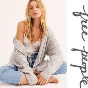 Free People Sweaters - Free People Ecalyptus Cardigan Gray